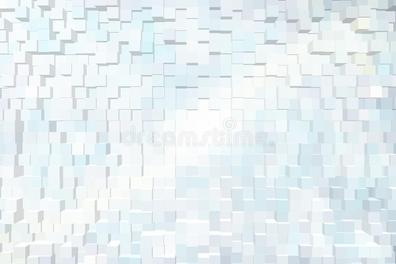 Fond abstrait des blocs 3d photographie stock