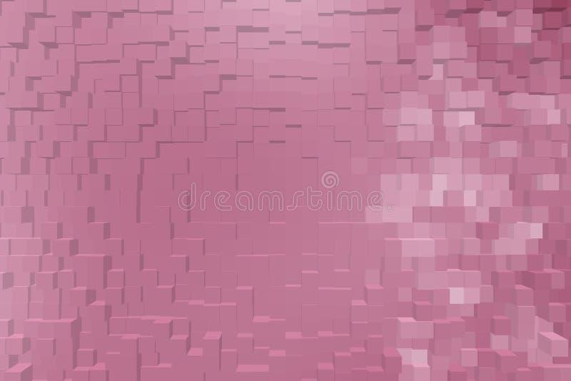 Fond abstrait des blocs 3d photo libre de droits