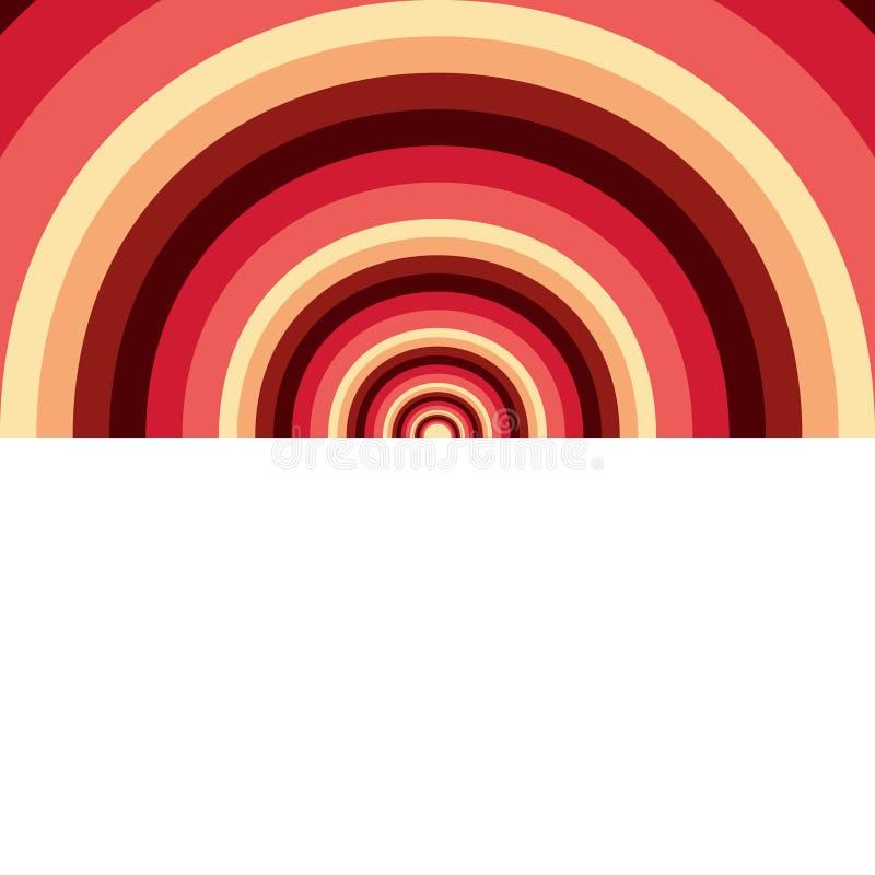 Fond abstrait des cercles illustration stock