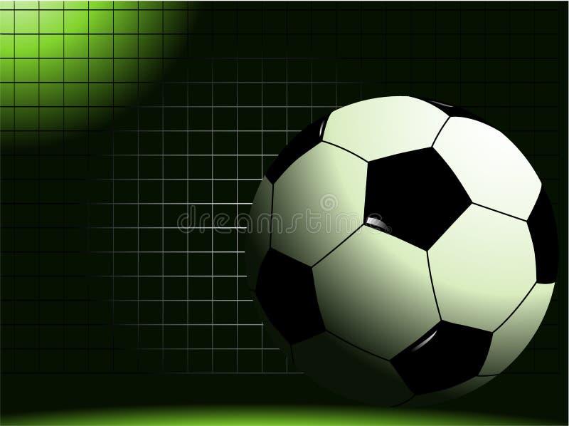 Fond du football illustration de vecteur