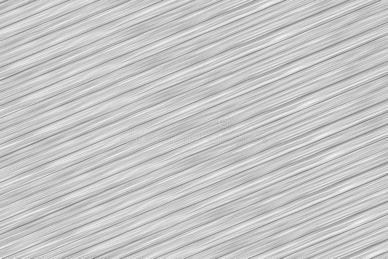 Fond abstrait en aluminium de texture gris-clair beaucoup de lignes diagonales conception de fond images stock