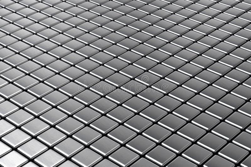 Fond abstrait en métal illustration de vecteur