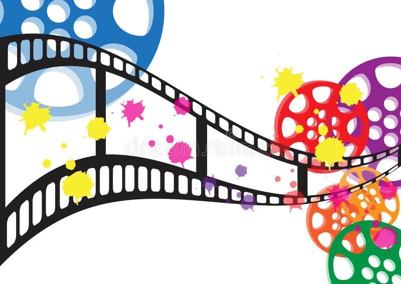 Film de fond   illustration libre de droits