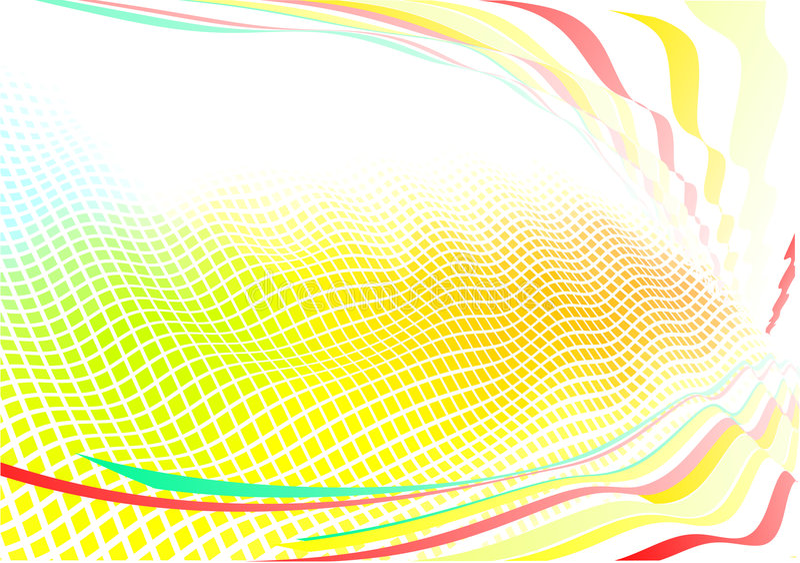 Fond abstrait génial illustration stock