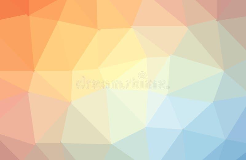 Fond abstrait géométrique moderne de vecteur multicolore léger Texture, nouveau fond Fond g?om?trique dans le style d'origami illustration libre de droits