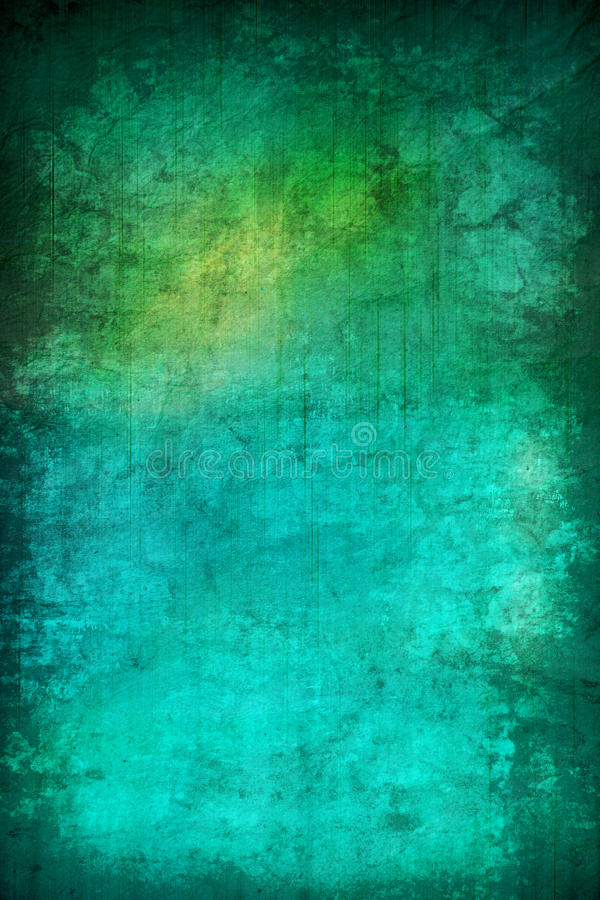 Fond abstrait grunge de texture de turquoise image libre de droits