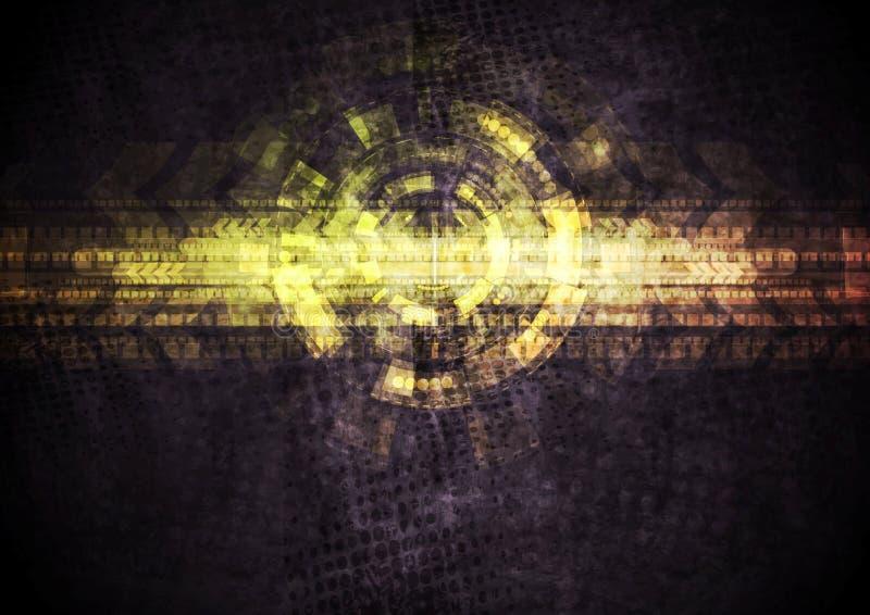 Fond abstrait grunge lumineux illustration de vecteur