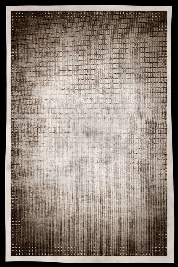 Fond abstrait grunge monochrome avec la frontière franc d'effet de film illustration de vecteur