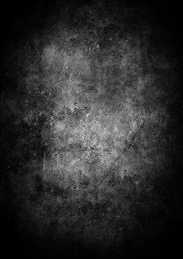 Fond abstrait grunge noir avec des lignes illustration stock