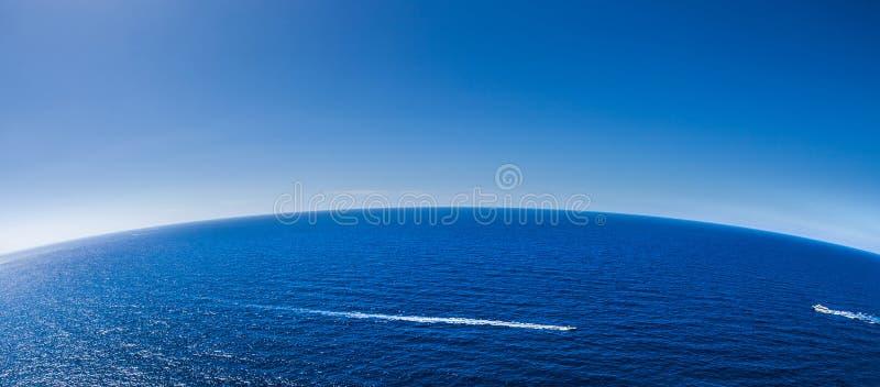 Fond abstrait II de paysage marin image libre de droits