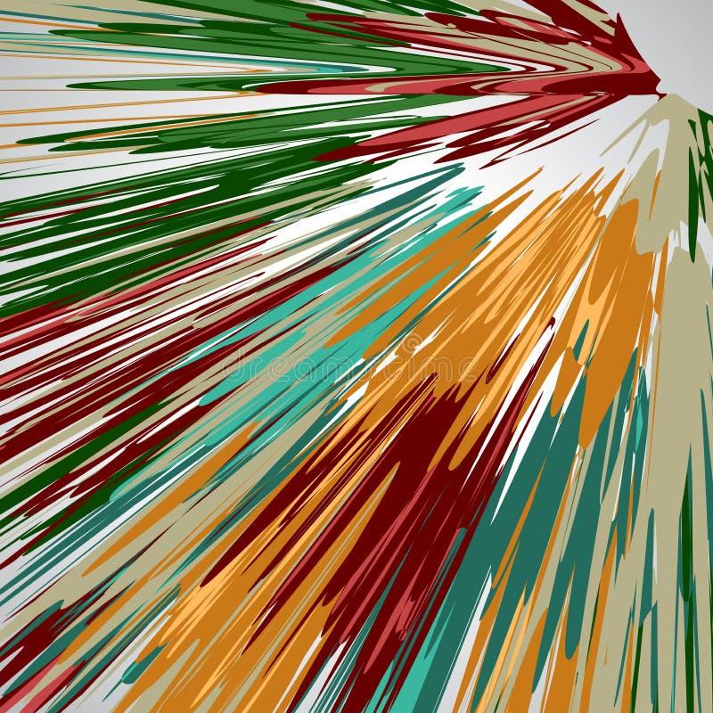 Fond abstrait, lignes, illustration colorée de vecteur illustration de vecteur