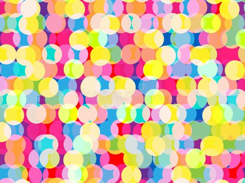 Fond abstrait lumineux illustration de vecteur
