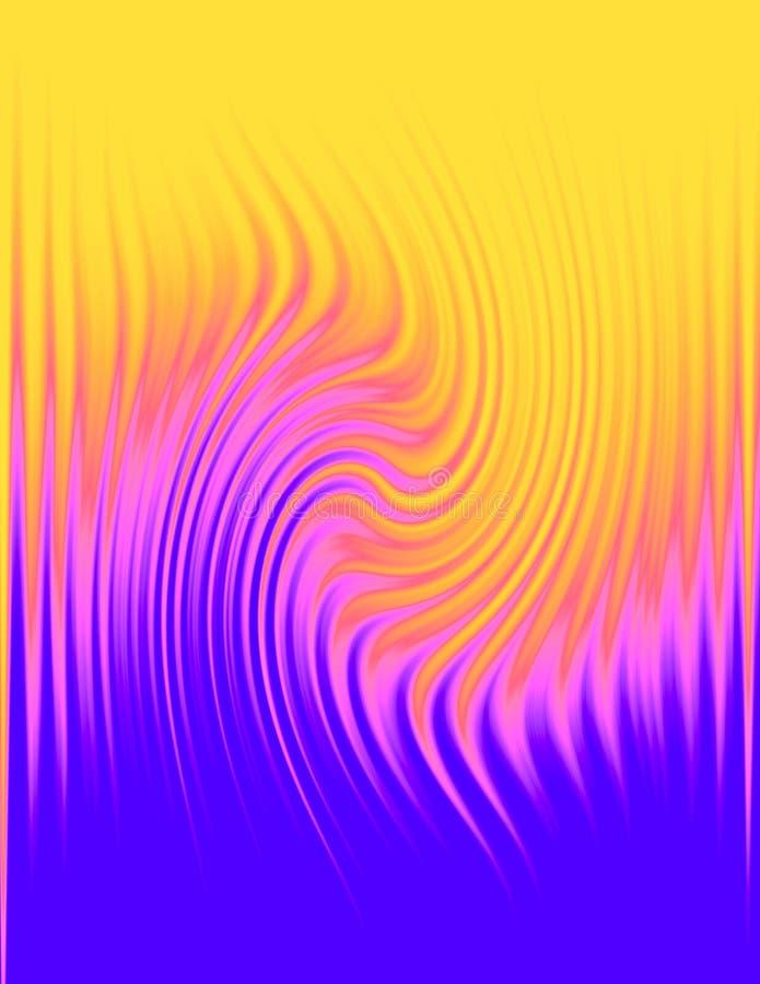 Fond abstrait modelé ondulé illustration libre de droits