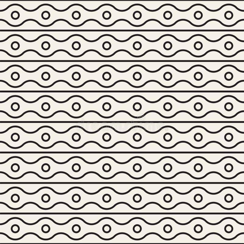 Fond abstrait moderne simple Monochrome abstrait illustration stock