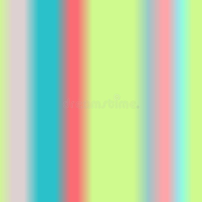 Fond abstrait mou d'aquarelle de couleur d'arc-en-ciel illustration libre de droits