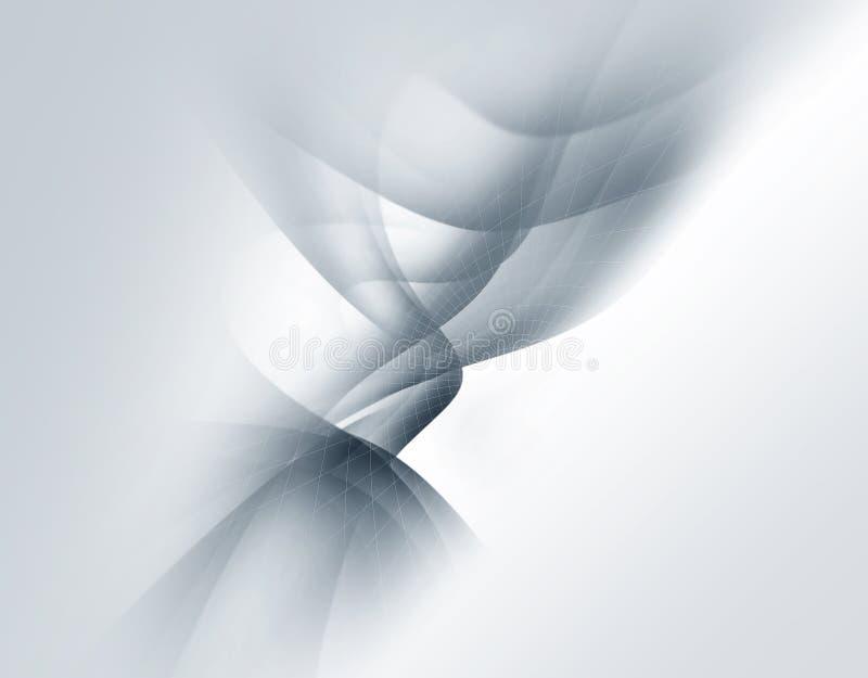 Fond abstrait mou gris illustration libre de droits