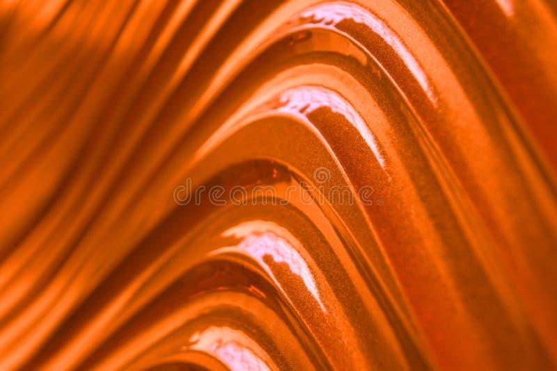 Fond abstrait mou orange pour la diverse conception images stock
