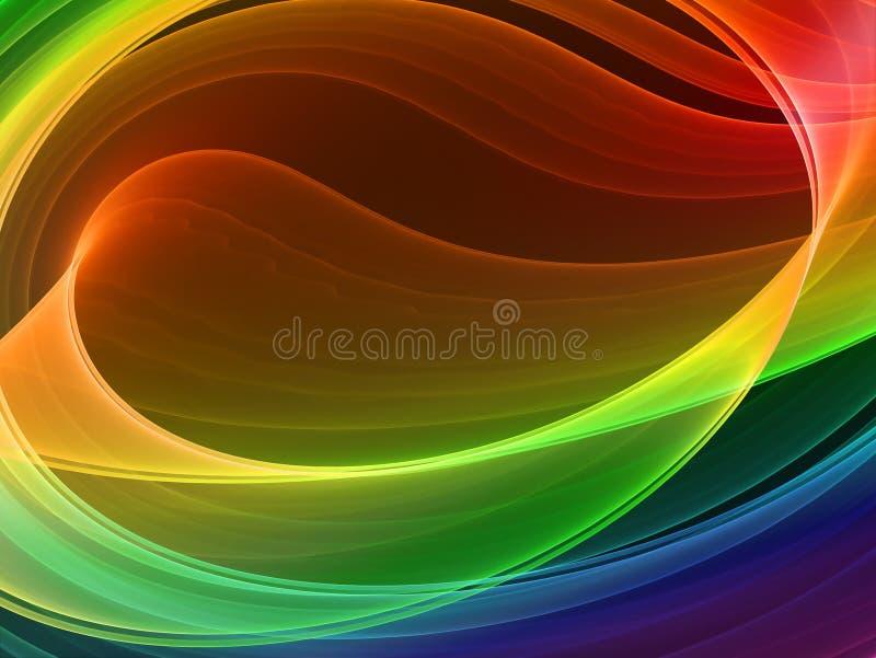 Fond abstrait multicolore illustration libre de droits