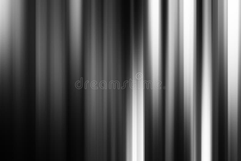 Fond abstrait noir et blanc vertical horizontal de rideaux images stock