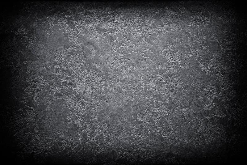 Fond abstrait noir grunge foncé de vignette de texture images libres de droits