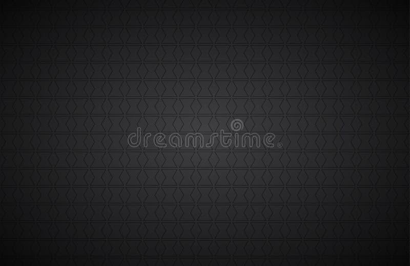 Fond abstrait noir, fond moderne d'écran géant de vecteur illustration libre de droits