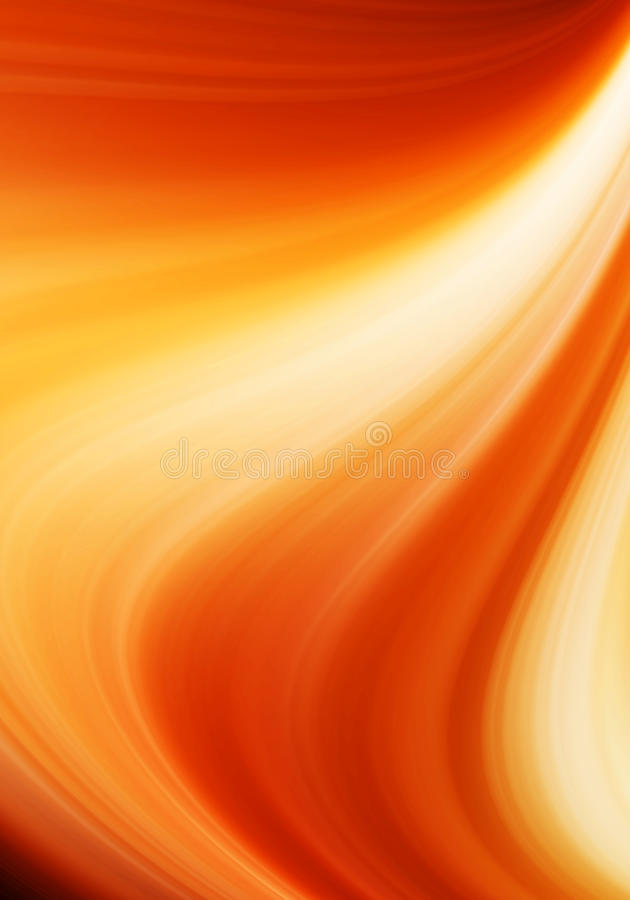 Fond abstrait orange photos libres de droits