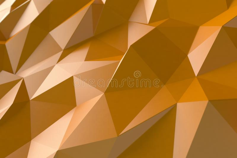 Fond abstrait orange photo stock