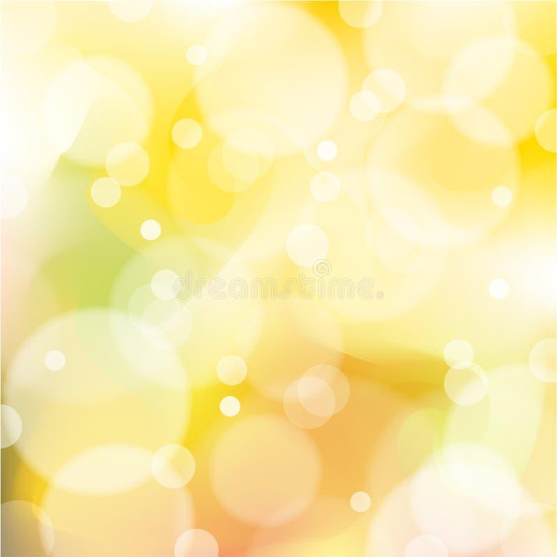 Fond abstrait orange et jaune de vecteur illustration de vecteur