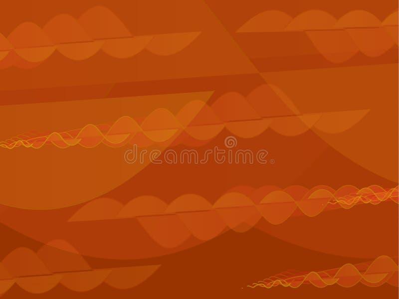 Fond abstrait orange-foncé et rouge photos stock