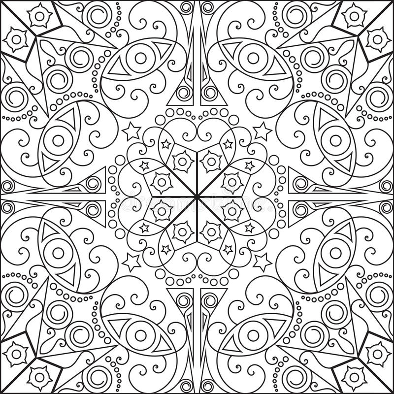 Fond abstrait ou Wallpap illustration stock