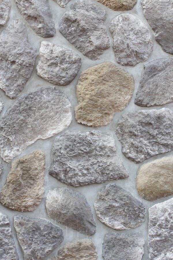 Fond abstrait pavant se composant de grandes pierres image stock