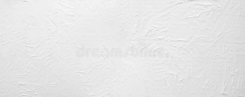 Fond abstrait peint par blanc large photo libre de droits