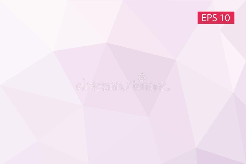 Fond abstrait pour la conception, vecteur des polygones, papier peint, fond géométrique de triangle, illustration de vecteur illustration de vecteur