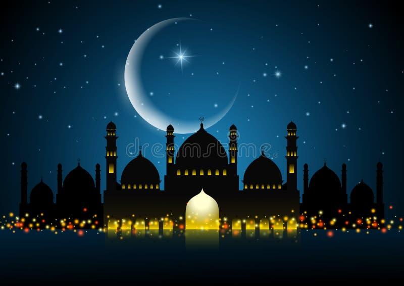 Fond abstrait pour le kareem de Ramadan illustration de vecteur