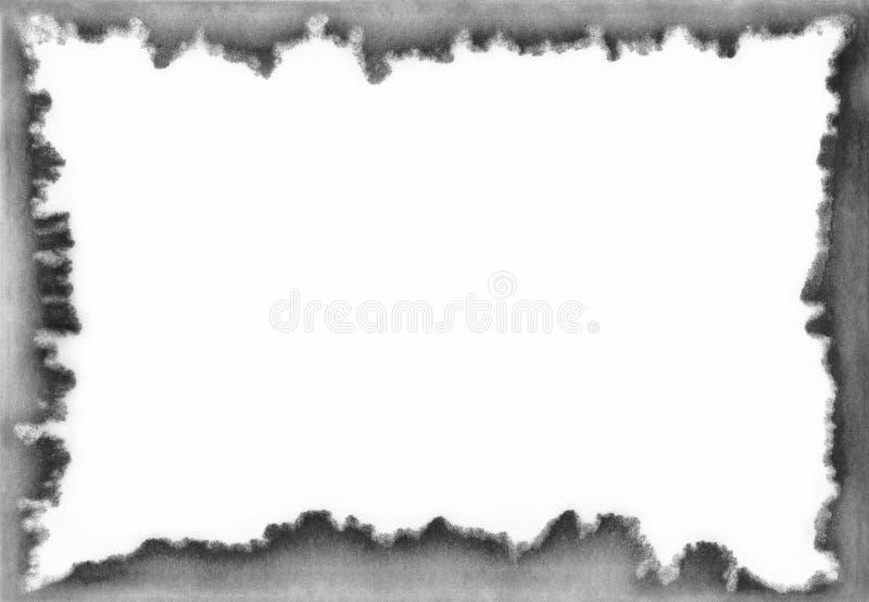 Fond abstrait pour votre texte ou photo cadre chimique noir et blanc naturel autour de feuille de papier de photo photos stock
