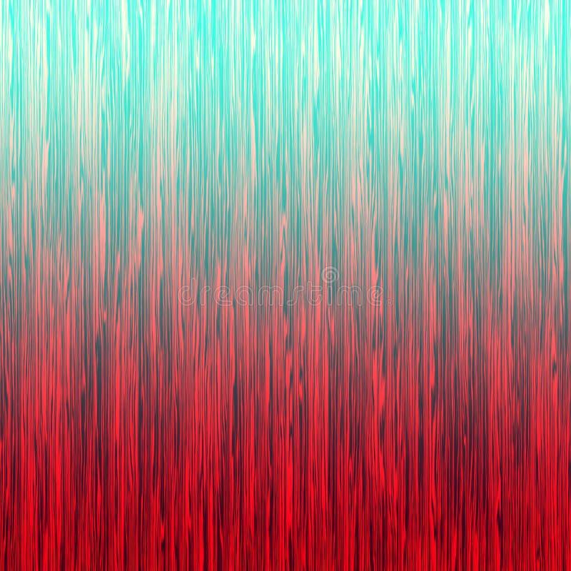 Fond abstrait rayé d'ombre bleu rouge photo stock