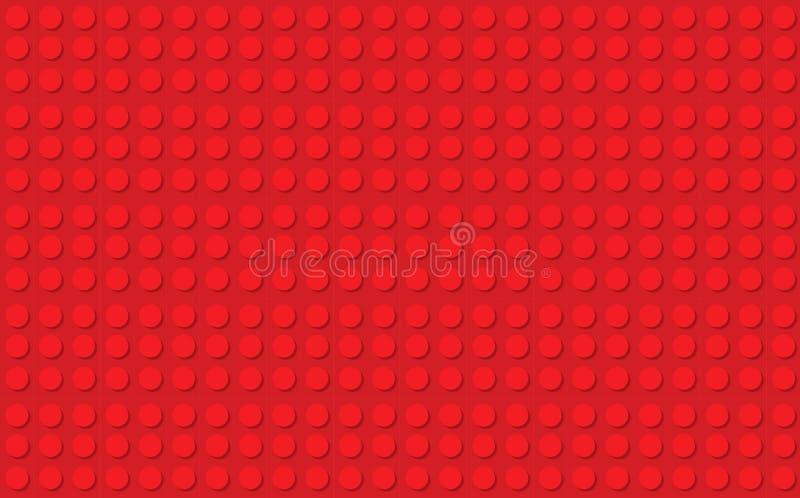 Fond abstrait rouge de pompe à incendie dans la conception de bloc constitutif photos stock