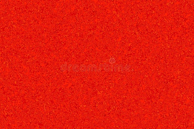 Fond abstrait rouge marbré Modèle liquide de marbre de texture Contexte liquide illustration stock