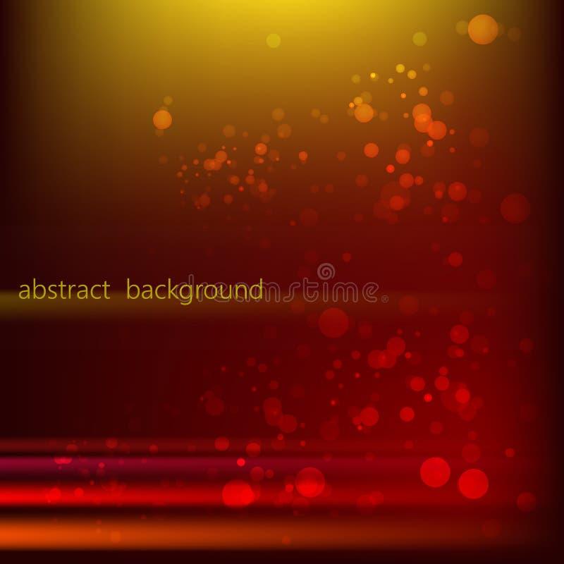 Fond abstrait rouge-orange lumineux photo stock