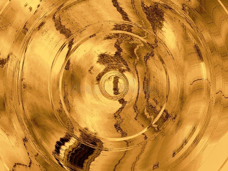 Fond abstrait sale avec des cercles illustration libre de droits