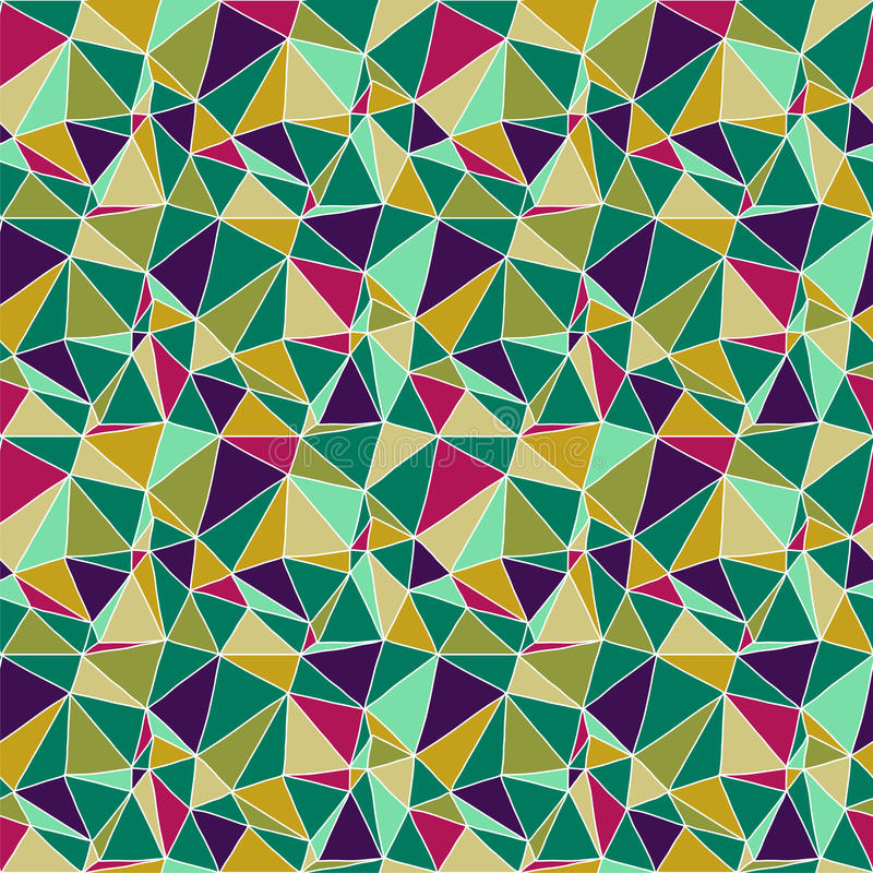 Fond abstrait sans joint d'origami illustration de vecteur