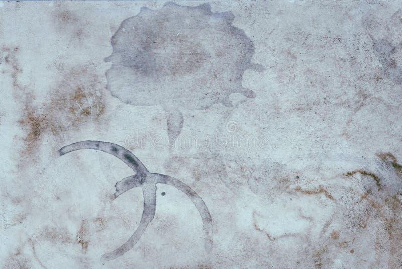 Fond abstrait souillé conceptuel sale VI de texture de cru vieux images libres de droits