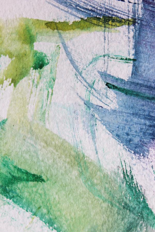 Fond abstrait sur une surface de texture dans des tons bleus et violets illustration de vecteur