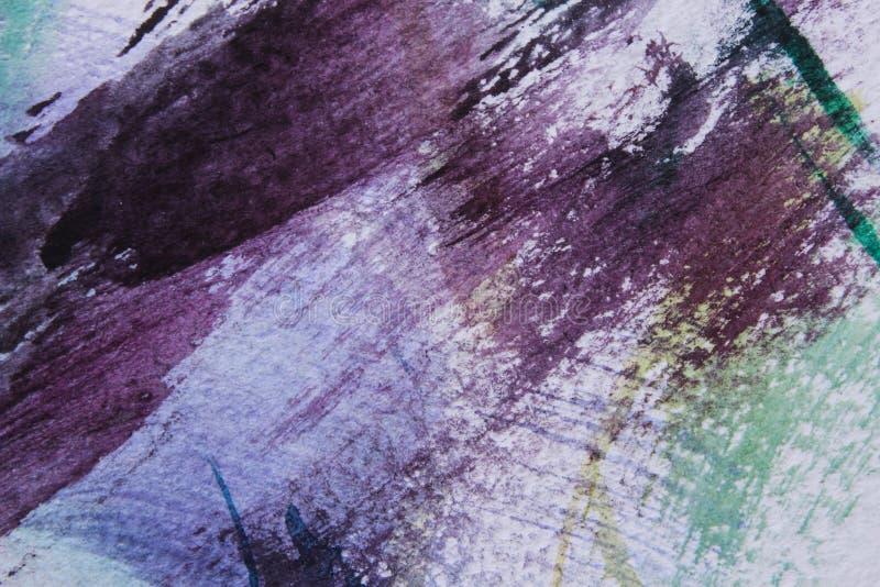 Fond abstrait sur une surface de texture dans des tons bleus et violets illustration libre de droits