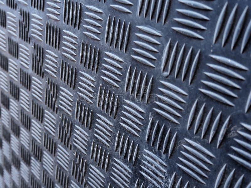 Fond abstrait, surface m?tallique peinte gris-fonc? photo stock