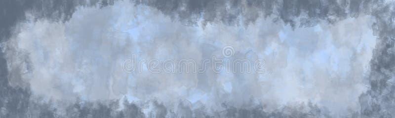Fond abstrait, texture de cru avec la frontière illustration de vecteur