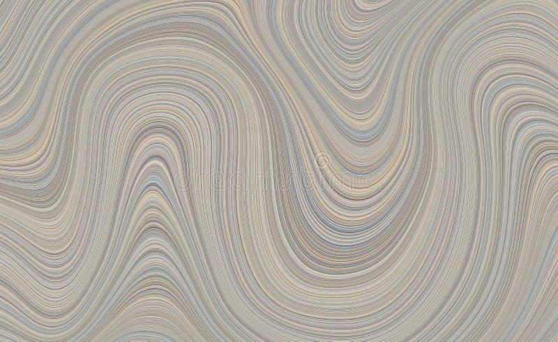 Fond abstrait texturisé coloré de mouvement organique illustration de vecteur