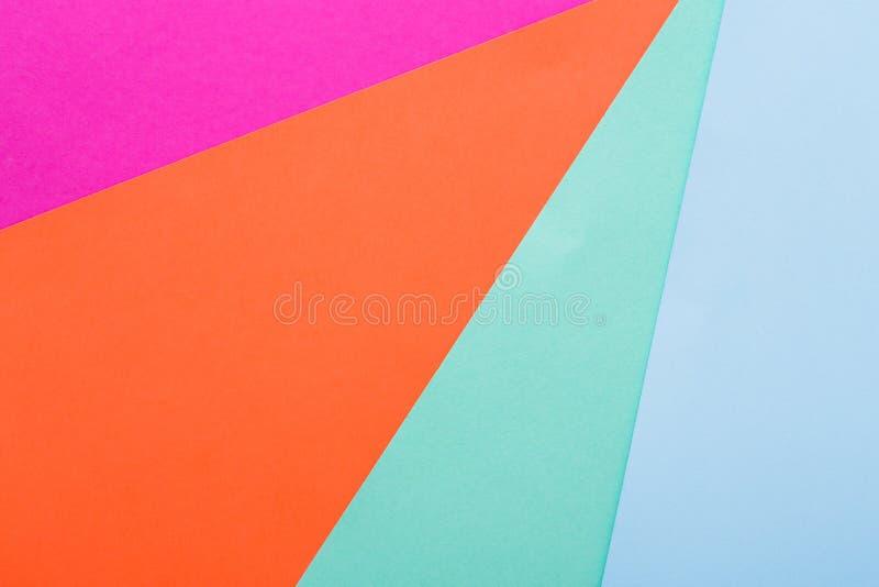 Fond abstrait texturisé géométrique de couleur image libre de droits