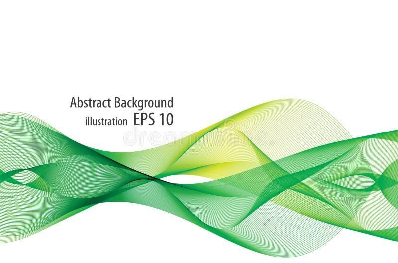 Fond abstrait vert illustration de vecteur