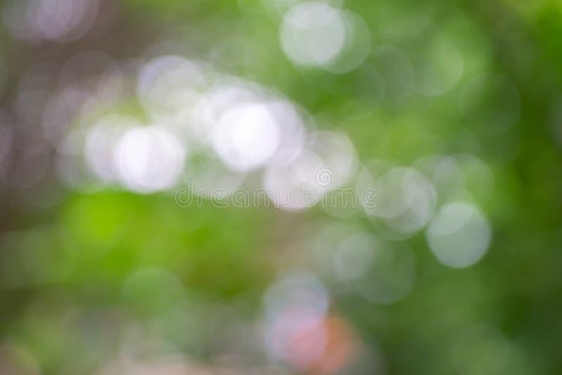 Fond abstrait vert pâle, jaune bokeh utilisé pour le papier peint et le design écologique images stock
